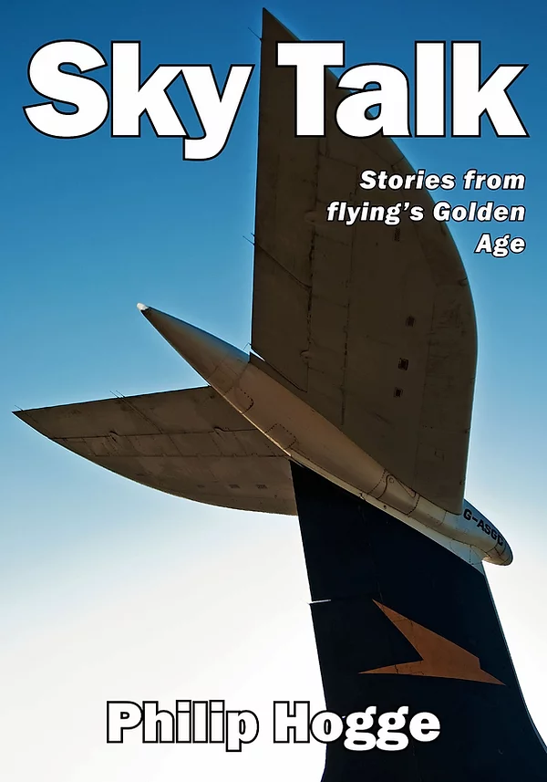 Cover of Sky Talk by Philip Hogge, published by Burnt Ash