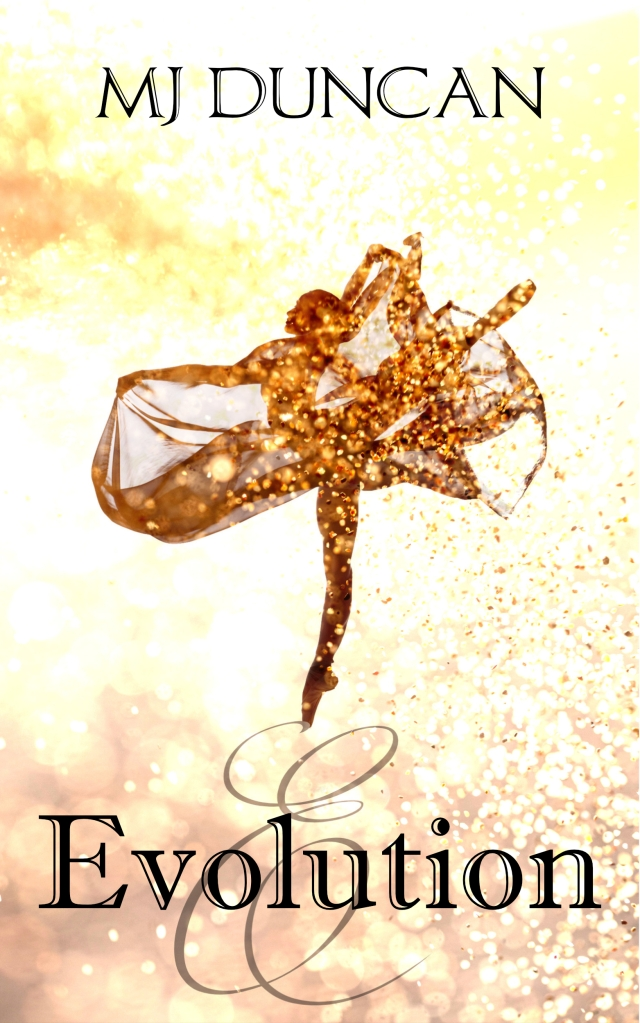 Book cover for Evolution by MJ Duncan