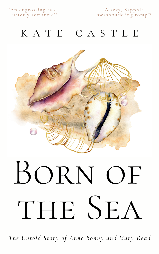 Cover of Born of the Sea by Kate Castle
